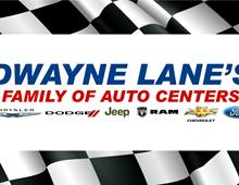 Dwayne Lane's Family of Auto Centers Welcomed