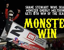 Shane Stewart Scores Monster Energy Meltdown