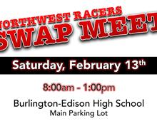 Northwest Racers Swap Meet February 13th