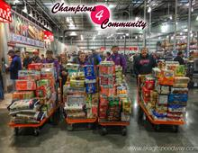 Champions 4 Community Food and Toy Drive is U