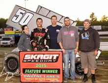 First Win for Margeson at Skagit Speedway