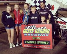Van Dam Returns to Victory Lane at Grays Harb