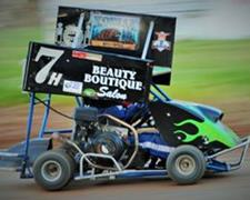 Cottage Grove Speedway Kage Kart Race #5 On F