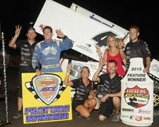 Johnson Takes Third Straight with Rapid Speedway Victory