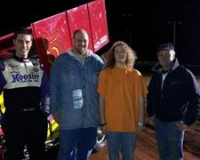 Hoffsess Wins Sprint Feature