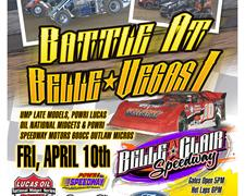 "Belle-Clair Speedway Set to Host ""Battle at Belle-Vegas I"""