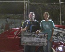 Mark Carrell Captures IMCA Modified Victory A