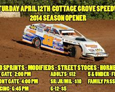 Cottage Grove Speedway Looks To Get 2014 Camp