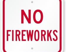 NO FIREWORKS AT SSP ON 9-13; REGULAR TICKET P