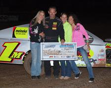 Mark Wauge Wins CGS Modified Nationals Race O