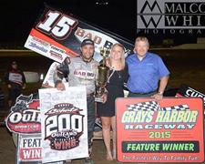 Donny Schatz Scores 200th Career World of Outlaws Sprint Car Series Win