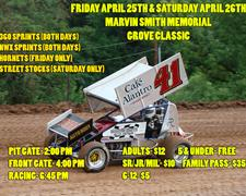 Cottage Grove Speedway Gearing Up For Marvin