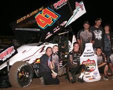 Jason Johnson Completes Lucas Oil ASCS Sweep
