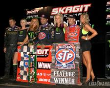 Schatz Drives to 18th World of Outlaws STP Sp