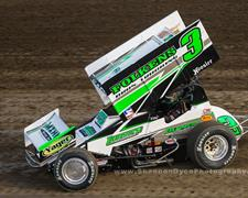 Kaeding Capitalizes on Last-Lap Pass to Claim