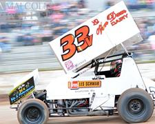 Van Dam Hampered by Mechanical Problem at Cottage Grove Speedway