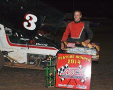 J.J. Hickle Wins Wild ASCS-Northwest Region Feature At Cottage Grove