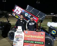 Sam Hafertepe, Jr. Sweeps The Lucas Oil ASCS