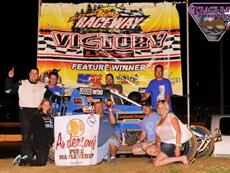 Caho With Thrilling Last Corner Pass For Win On Night #2 At The Open Wheel Nationals
