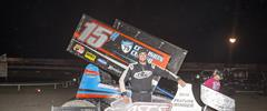 Sam Hafertepe, Jr. Is King Of Lucas Oil ASCS
