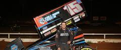 Hafertepe Jr. Maneuvers to First Career Win at Family Owned Track with ASCS Red River