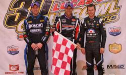 Bryan Clauson Leads It All On Vacuworx Q
