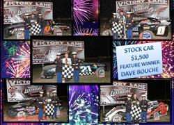 Bouche Bests 43 competitors to take home $1,500 at Luxemburg Speedway