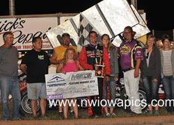 Nobles County Speedway Win
