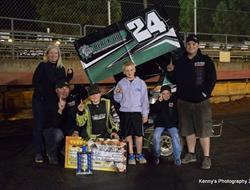 Ronnie Gilmore Jr. Wins SSP Dwarf Car Nationals Pr