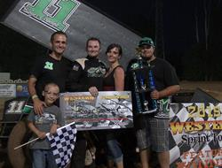 Roger Crockett Wins $5,000.00 Speedweek Finale At