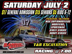 Sandusky Speedway Enters July in Super Style!