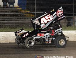 Herrera Rallies at Bronco Raceway Park for Another
