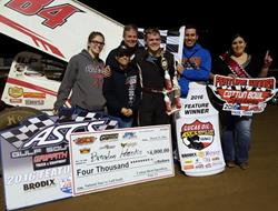 Hanks Earns First Career ASCS National Tour Triump