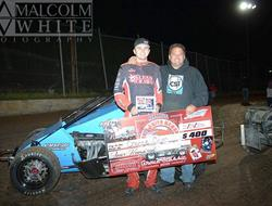 Chance Crum Makes Late Race Pass To Win Cottage Gr