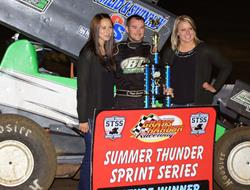 Heath Claims Summer Thunder Title