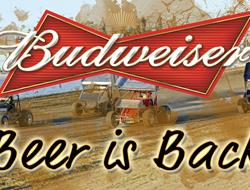 Budweiser Beer is Back at GHR!!