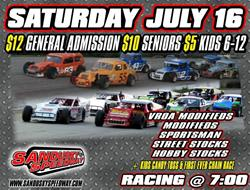 Full slate this weekend at Sandusky Speedway