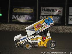 Swindell tops 2013 Lucas Oil ASCS Speedweek