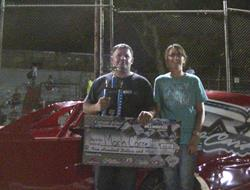 Mark Carrell Captures IMCA Modified Victory At CGS