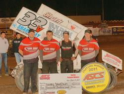 Van Dam Muscles Up ASCS Northwest Win at Cottage G