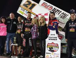 Brian Brown Earns First Career Lakeside Speedway V