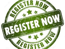 2016 REGISTRATION NOW OPEN