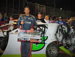 Jesse Williamson Wins Wild West Modified Shootout Round #4 At CGS