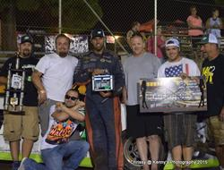 Jesse Williamson Wins Dancin Bare Topless Modified