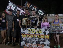 Justyn Cox Wins Caution Free Speedweek Northwest R