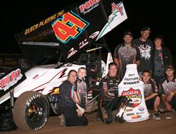 Jason Johnson Completes Lucas Oil ASCS Sweep at Co