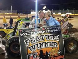 Wayne Van Raden Wins Wingless Sprint Series Open W