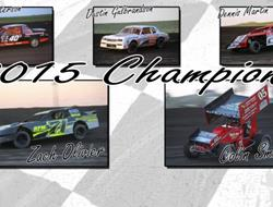 Congratulations 2015 Season Point Champoions
