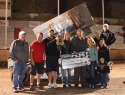 Noland, Mayden, Langan, And Smith CGS St. Jude Night Winners; Nunes Wins 360 Sprint Championship