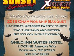 2015 Banquet Information for SSP And NELMS Series